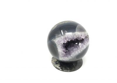 Amethyst - Uruguayan/Agate - Spheres